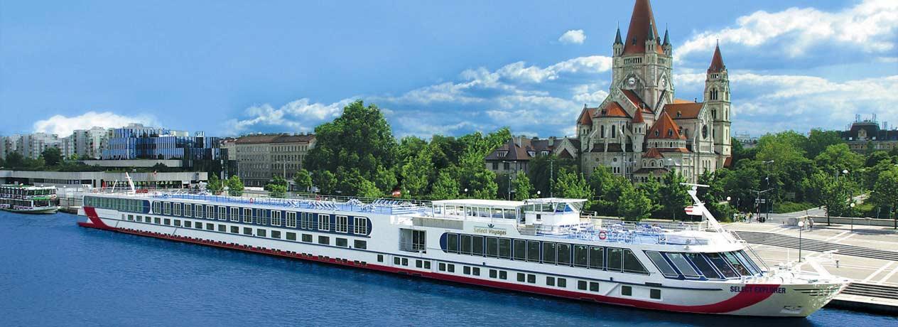 Donauwalzer am Flusskreuzfahrtschiff