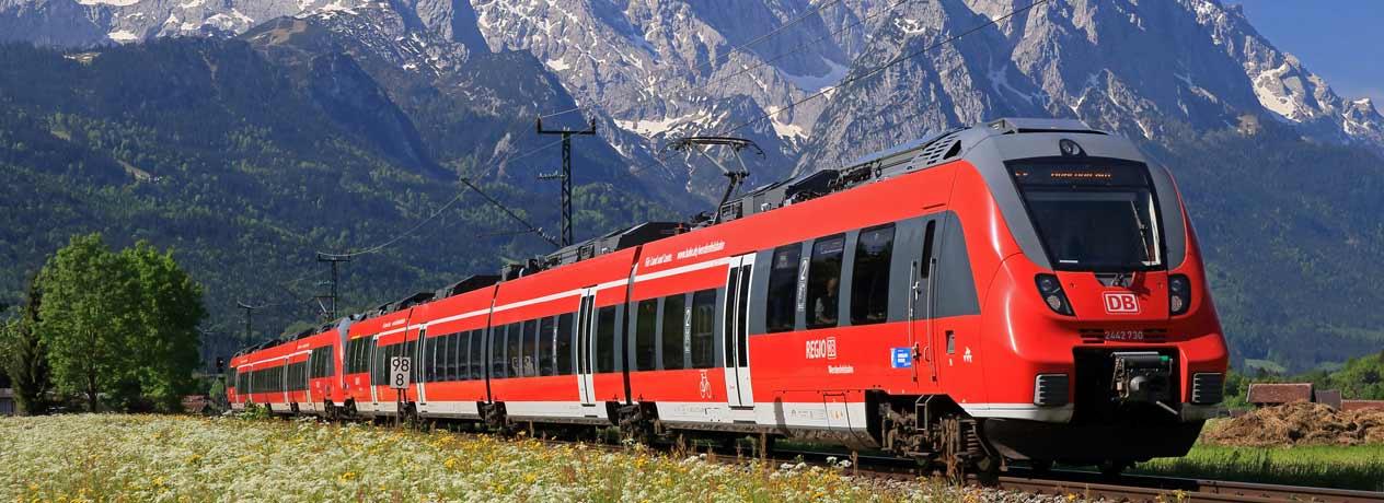 Vorschaubild von Mit der Bahn nach Salzburg