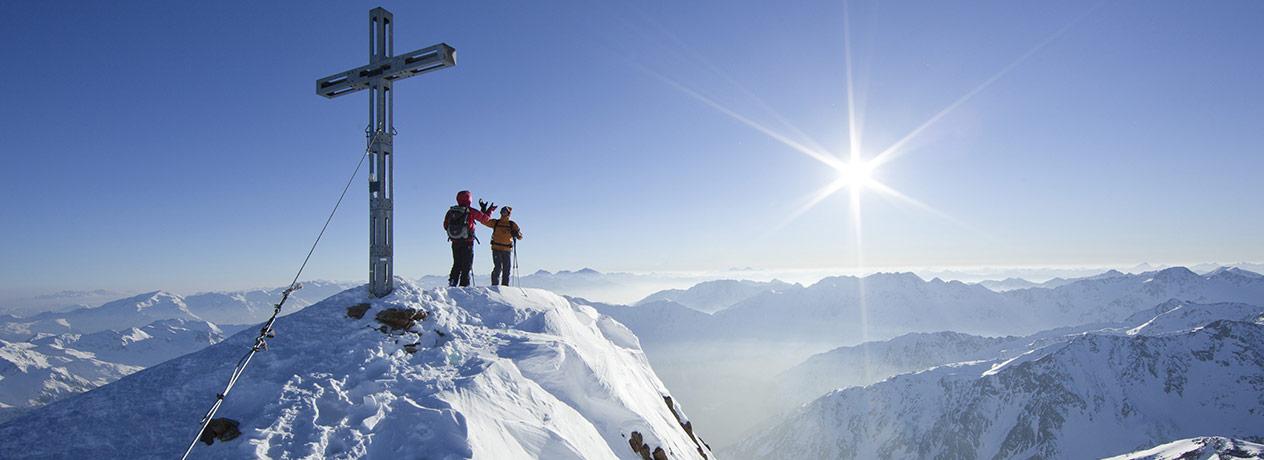 Schneeerlebnis und Wellness in Längenfeld
