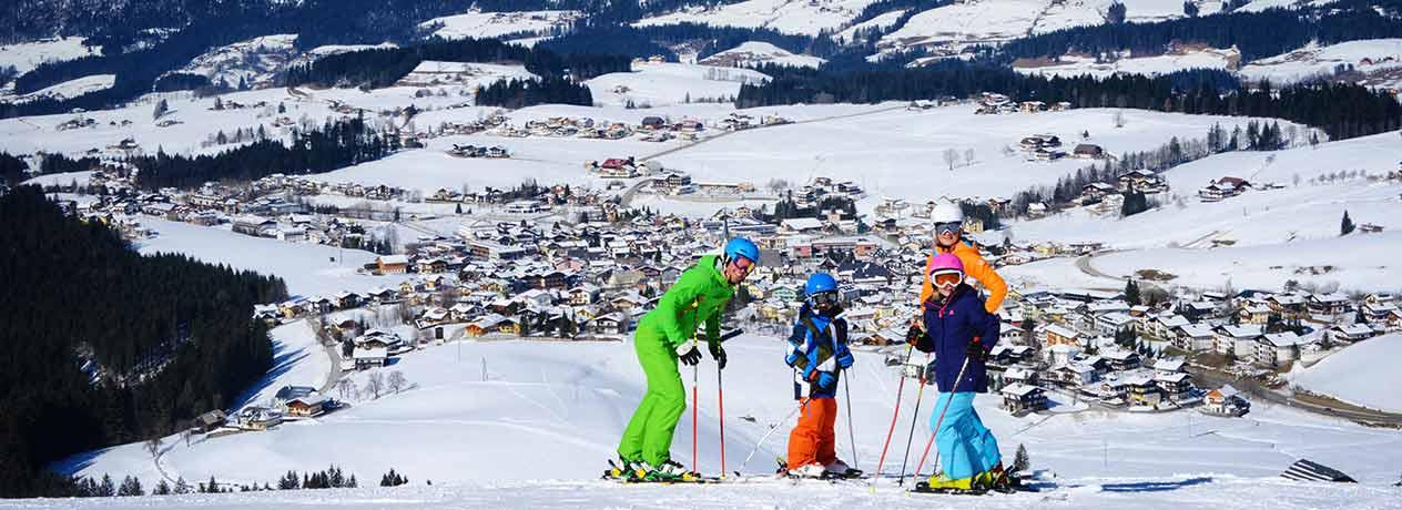 Winterspaß in Abtenau