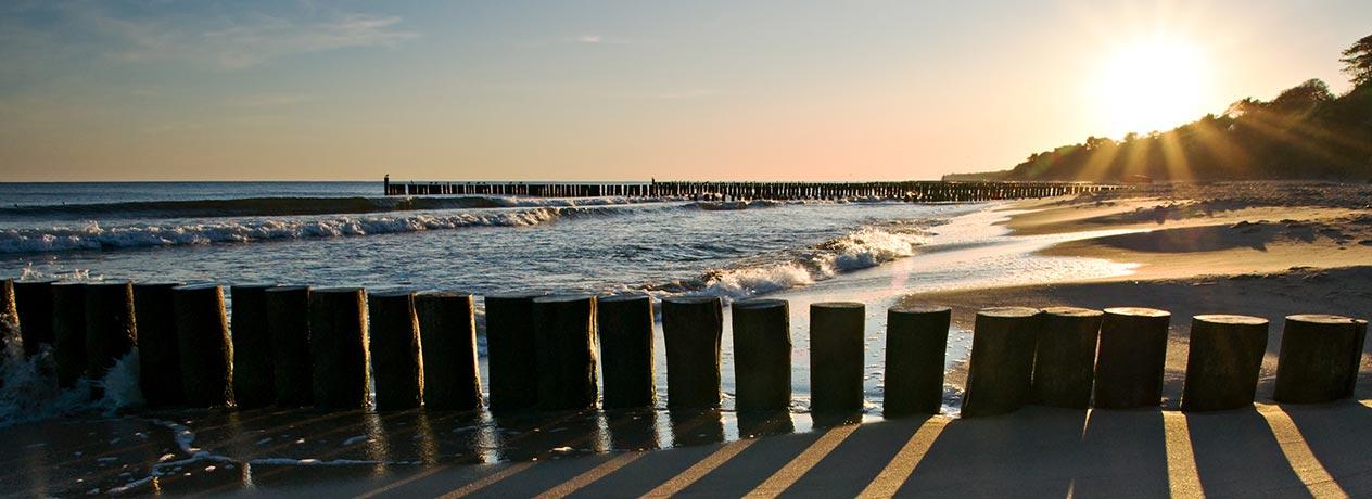 Relaxen an der Ostsee